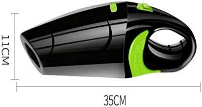 Mini aspirateur Aspirateur de voiture sans fil 100-240V AC chargeur de batterie en aluminium Câble de charge USB Aspirateur à double usage humide et sec