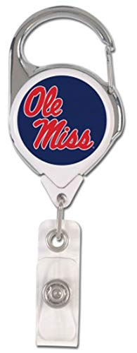 WinCraft Mississippi Ole Miss Rebels Premium Badge Reel Id -