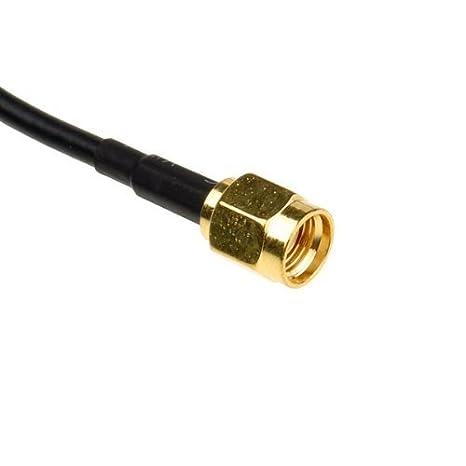 L2go 9 m antena RP-SMA Cable alargador para Wi-Fi Router inalámbrico Wi: Amazon.es: Electrónica