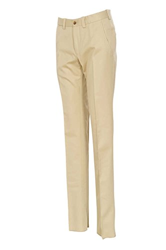 Discount Tom Ford Pants Men's 46R Beige Cotton Regular Fit Regular Cut