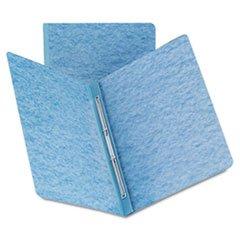 ** Side Opening Pressboard Report Cover, Prong Fastener, Letter, Blue