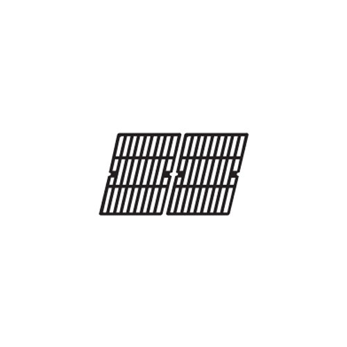 Music City Metals 61112 Gloss Cast Iron Cooking Grid Replacement for Select Presidents Choice Gas Grill Models, Set of 2
