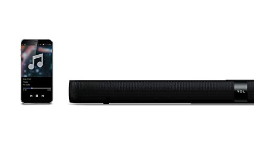 """TCL Alto 7+ 2.1 Channel Home Theater Sound Bar with Wireless Subwoofer - TS7010, 36"""", Black"""