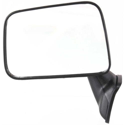 Mount Door Mirror Deluxe (Make Auto Parts Manufacturing - Driver Side Manual Door Mirror For Toyota Pickup, Door Mount Mirror, Deluxe, Black Textured Left Side Rear View Mirror TO1320109)