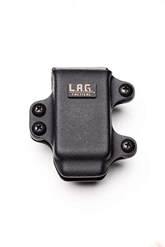 LAG Tactical MCS Single Rifle Magazine Pouch AR-15 Kydex Black