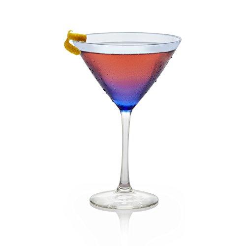 Libbey Blue Bowl 6-piece Martini Glass Set by Libbey