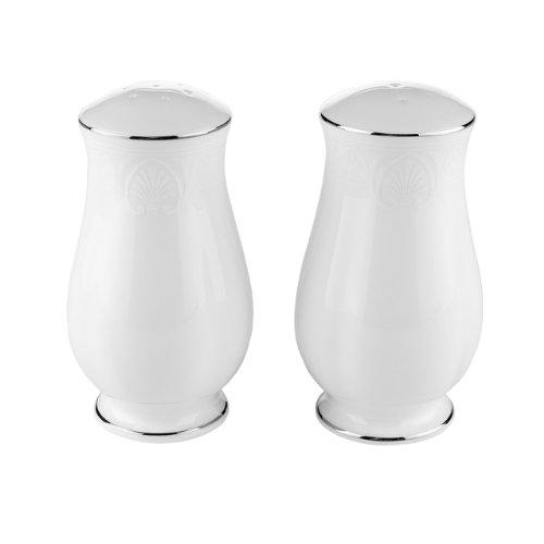 Lenox Hannah Platinum Salt and Pepper Set, White by Lenox (Image #1)