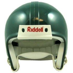 Riddell VSR4 Blank Mini Football Helmet Shell - Forest Green