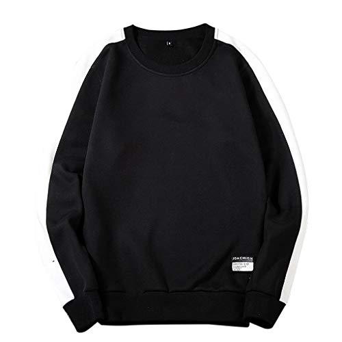 - Fun1980s Men's Ultimate Patchwork Heavyweight Crewneck Sweatshirt Premium Quality Long Sleeve Hoodies Sweatershirt Tops