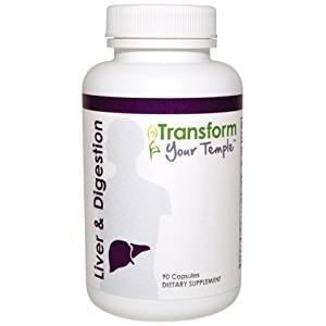 Transform Your Temple - Liver and Digestion - 90 caps - 2 Pack by Beyond Organic