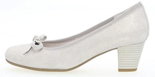 Gabor Women's Basic Closed-Toe Pumps Silver 6PbZCfkNT