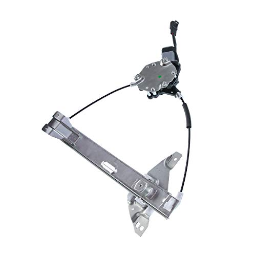 (A-Premium Power Window Regulator with Motor for Chevrolet Impala 2006-2013 Impala Limited 2014-2016 Rear Right Passenger Side)