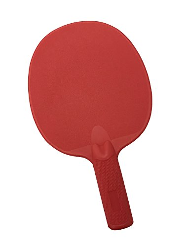 (Cannon Sports Red Unbreakable Table Tennis Paddle)
