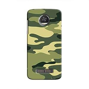 Cover it up Jungle Camo Hard Case for Motorola Moto Z2 Play - Multi Color
