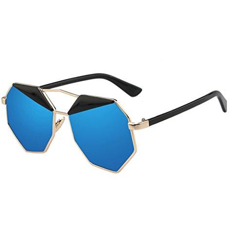 des Sunglasses Couleur de Lunettes Soleil B Lunettes Polygonal B Reflective Sunglasses rqraTw