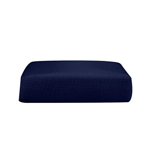 Fenteer Stretchy Sofa Futon Seat Bench Cushion Slip Cover Couch Slipcover Protector Replacement Garden Furniture - Dark Blue_Size S from Fenteer