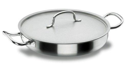 Lacor Professional 50636 Round S/S 18/10 Saute 40 CMS