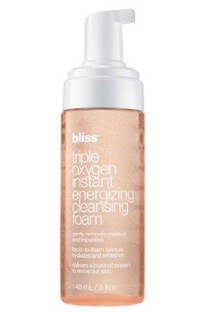 bliss triple oxygen instant energizing cleansing foam