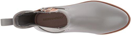 Bernardo Boot Zip Rubber Grey Rain Women's 6vg4Aq