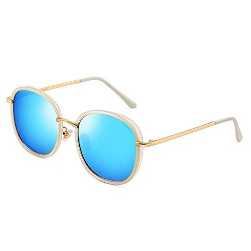 Libre Gafas Aire polarizadas Ultra Frame para Light A Color de Hombre Gafas al Metallic de Sol HD Deporte Lens Metal B pzqvxwEPXn