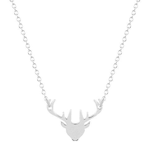 deer head necklace - 7