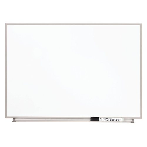 Quartet Matrix Modular Magnetic Whiteboard with Tray, 23 x 16 Inches, Includes Marker and Magnets, Aluminum Frame (M2316)