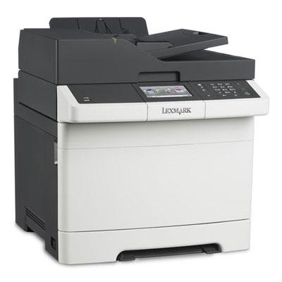 Lexmark 28D0550 CX410de Multifunction Color Laser Printer, Copy/Fax/Print/Scan