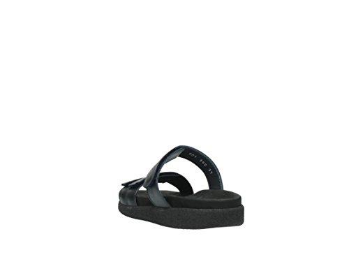 30800 Leather Comfort Blue Cirrus Wolky Dark qx0wgUp