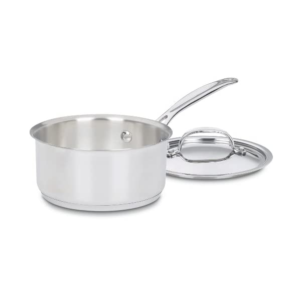 Cuisinart 77-7 Chef's Classic Stainless 7-Piece Cookware Set,Silver 3