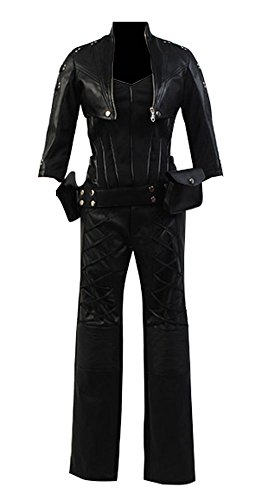 Womens Halloween Costume Green Arrow Black Canary Sara Lance Cosplay Costume Outfit ,X-Large -