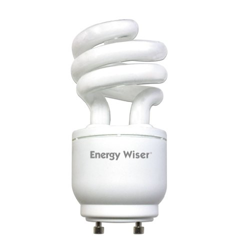 Dimmable Gu24 Compact - Bulbrite CF13WW/GU24/DM 13W 120V Energy Wiser Dimmable Compact Fluorescent Coil T3 Bulb, Warm White