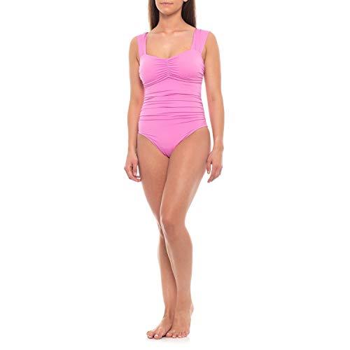 Magicsuit Women's Magic Solids Claudia One Piece Halter Swimsuit Pink 12 (Magicsuit One Piece)