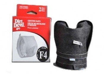 Dirt Devil Royal Type F4 Hand Vac Filter 2 PK Manufacture Part # 3ME1950001 (Part Vac Hand)