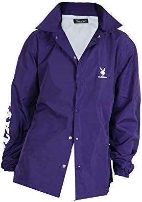 (メンズナーレ) MensNare メンズ ユニセックス PLAYBOY コーチジャケット シャツジャケット プリント Q020124-01