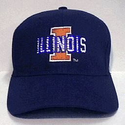 blinkee Illinois University Flashing Fiber Optic Cap by ()