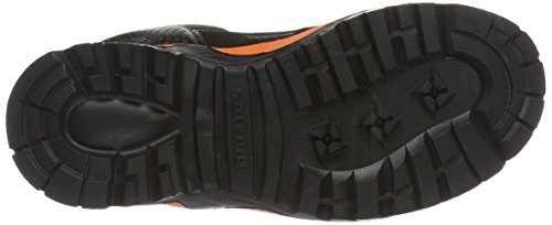 SALEWA Jr Alp Player Mid GTX, Botas de Senderismo Unisex Niños Negro/Naranja (Black Out/Holland 8668)