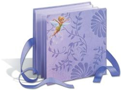 EK Success Disney Accordion Album 6 Inch by 6 Inch, Tinker Bell Leaves