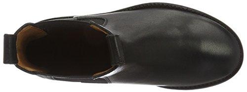 Shabbies Amsterdam 3,5cm Heel Sole Black 14cm Chelsea Booty Farah, Zapatillas de Estar por Casa para Mujer Negro - negro
