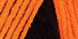 Red Heart  Team Spirit Yarn, Orange/Black (Spirit Halloween Super Store)