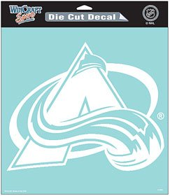 (WinCraft NHL Colorado Avalanche WCR29615014 Perfect Cut Decals, 8