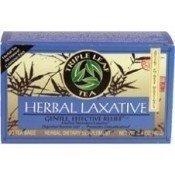 TRIPLE LEAF HERBAL LAXATIVE TEA 1.27 OZ (The Best Laxative Tea)