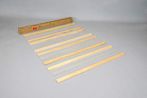 "Set of Eight (8) 53 3/4"" Full/Double Size Wooden slats for CC KITS Crib Conversion Kits"