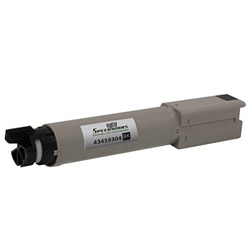 Speedy Inks - Okidata C3400n/C3530MFP/C3600n Compatible High Yield Black 43459304 Laser Toner Cartridge for use in Oki C3300n, Oki C3400n, Oki C3520, Oki C3530n MFP, Oki C3600n, Oki MC360n (C3400n Black Toner)