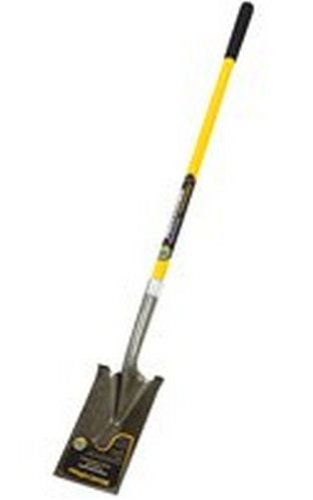 Mintcraft PRO 38468 Long Handle Fiberglass Garden Spade by Mintcraft