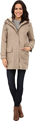 Cole Haan Women's 4-In-1 Hooded Parka With Removable and Reversible Liner Bomber Jacket Maple Sugar 8 (1 4in Jacket Womens)