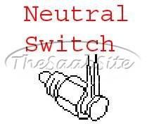 Saab Original 9-2x Neutral Safety Switch 32006680 (Safety Saab Neutral Switch)