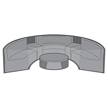 Nova PVC poliéster impermeable ajustable al aire libre muebles de ...