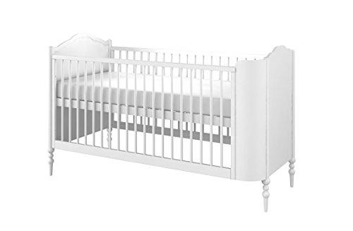 Babybett Bett umbaubar zum Kinderbett Liegesofa GOOD NIGHT by Anna Mucha Design weiß