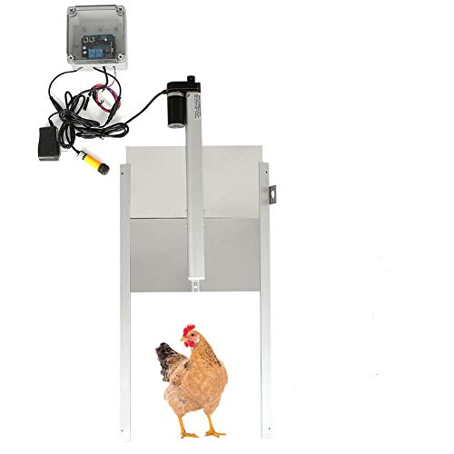 Kit de abridor automático para puerta de gallinero impermeable al aire libre con mando a distancia: Amazon.es: Industria, empresas y ciencia