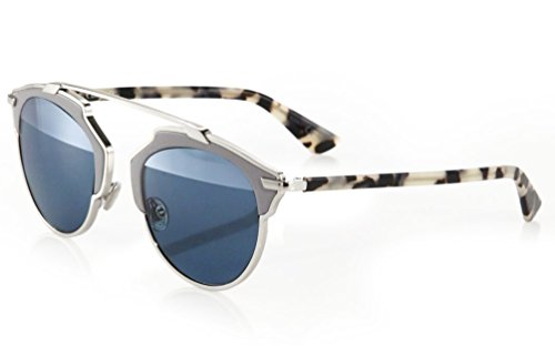 Dior Real Leather Metal Sunglasses